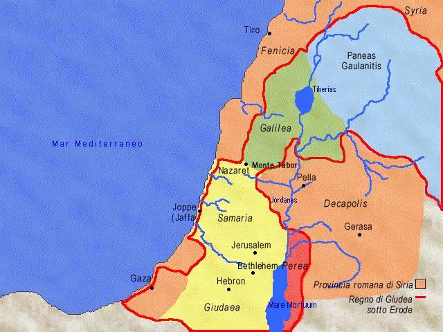 Super La Palestina al tempo di Gesù MV13