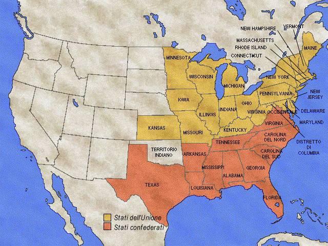 La guerra di secessione